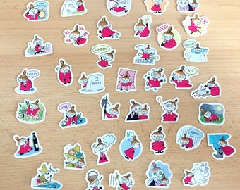 Moomin sticker - 40 pieces - little my