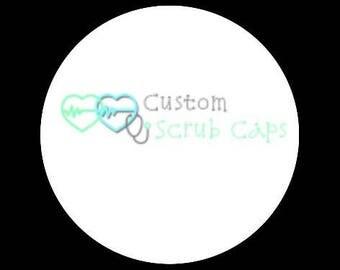 Custom Surgical Scrub Caps