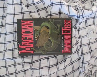SOLD - Vintage book RARE First Edition Magician by Raymond E Feist, 1982 science fiction & fantasy story by famous sci-fi author with jacket