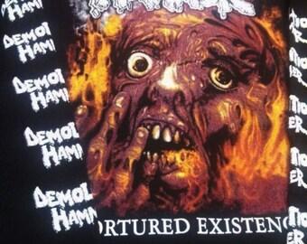 Classic - Demoliton Hammer  Tortured Existence - longsleeve - only 1 M left -  Death,Entombed, Massacre,Terrorizer.