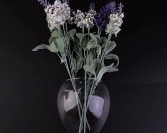 Stylish The Hanging Wall Hanging Vases Transparent Glass Hydroponic Decorative DIY Home