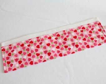 Pink Hearts Handbag Organiser Tidy
