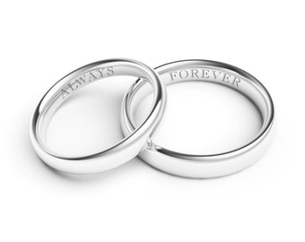 Laser Engraving Service for Jewelry - Monograms, Initials, Names, Dates, Quotes, Image, Script, Handwriting CUSTOM