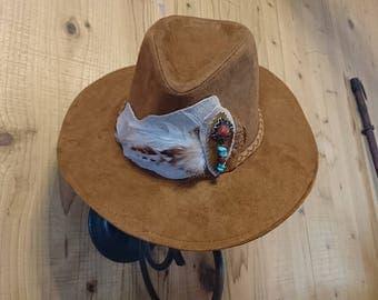 Cowboy Cut Fedora