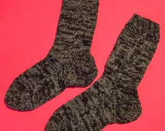 Men socks Women socks Grey socks Warm socks Wool socks Winter gifts Вязаные носки Шерстяные носки  Мужские вязаные носки Теплые носки