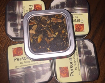 Handmade Chai Tea Blends: Loose Leaf Tins