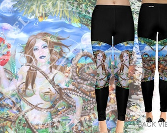 Caceal - Leggings - Mermaid Fantasy