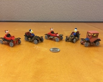 Disney Collectible Miniature Toy Cars