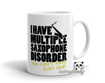 Saxophone  Player Mug - Multiple Saxophone Disorder Mug