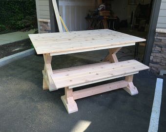 Farmhouse Dining Table - *SOLD*