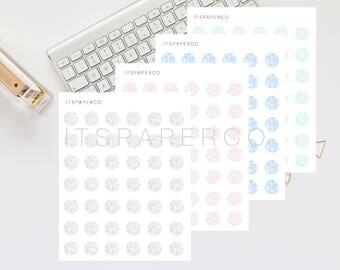 VALUE BUNDLE - Marble Dots - Bullet Journal Stickers - Planner Stickers - Functional Stickers - D003