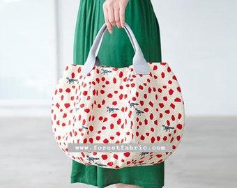 Paper Pattern | Echino Hexagon tote Bag Pattern