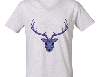 Stag V Neck T-shirt