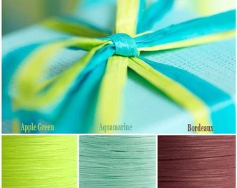 Paper Raffia Ribbons in Various Colours