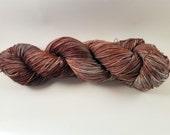 Hand Dyed Yarn 'Mineralized' - Sock Weight Hand Painted Tonal/Varigated Yarn - 100g of 75/25 Merino/Nylon Blend Superwash 4-Ply Yarn