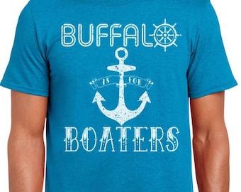 Buffalo is for Boaters T-shirt NY WNY Lake Erie