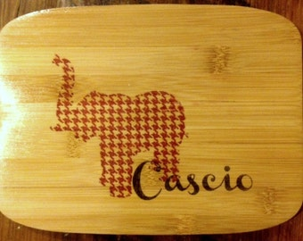 Personalized Bamboo Cutting Board, Customized Gift, Wedding Gift