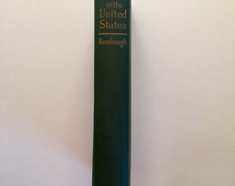 RARE 1911 Political Status of Women in the United States First Edition by Bertha Rembaugh