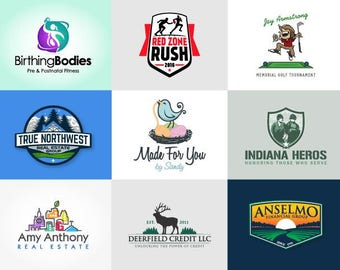 Custom Logo Design, Logo, Logo Design, Business Logo, Logo Design Service, Photography Logo, Premade Logo, Vector