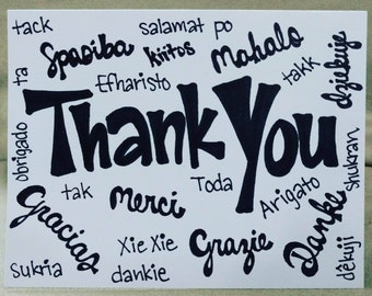 Thank You - Languages