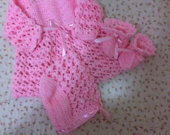 For newborn pink set, 3 PCs