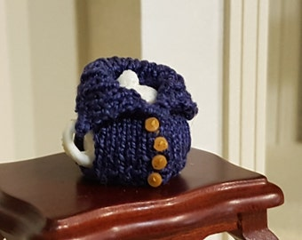 Miniature tea top cosies