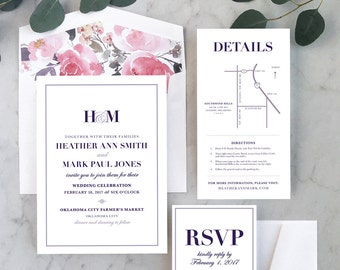 Simple + Standout Wedding Invitations