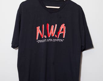 Vintage 1990's NWA Staight Outta Compton Shirt | Size XL