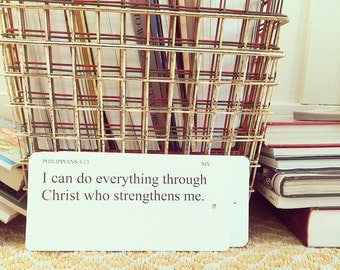 bible verse flashcard