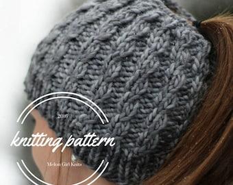"""Shop """"ponytail hat pattern"""" in Sewing & Needlecraft Supplies"""
