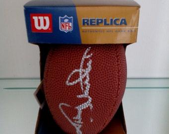Autographed Miniature NFL Football - Johnny Unitas