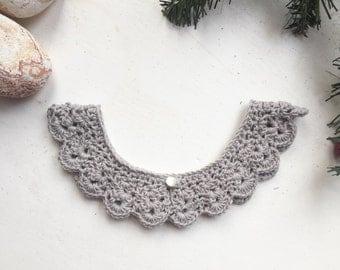 Lullabelle collar/ crochet collar/ collar necklace
