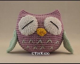 Owl amigurumi Ydekado handmade gift idea