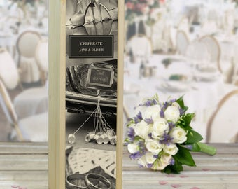 Just Married, Celebrate Wine Box (other titles available)