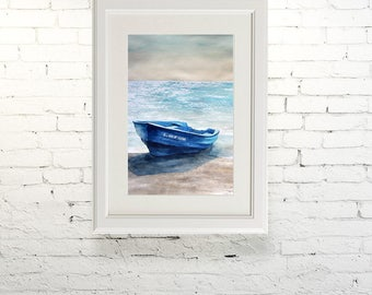 "Printable wall art  Watercolor poster ""Serenity"" Home decor"