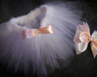 Pretty in Pink Tutu & Matching Bow