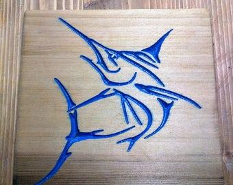 Marlin     clear cedar 11.25x11.25x1 inch