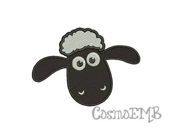 8 Size  Timmy Time Sheep  Embroidery design  Machine Embroidery - Digital INSTANT DOWNLOAD