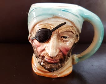 Small Pirate Toby jug