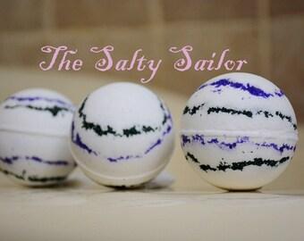 THE SALTY SAILOR Bath Bomb - Vanilla Mint