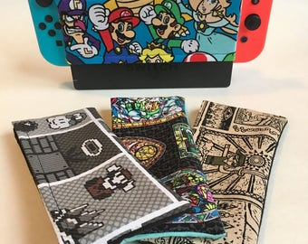 Nintendo Switch Dock Cover, Switch Dock Sock, Customizable