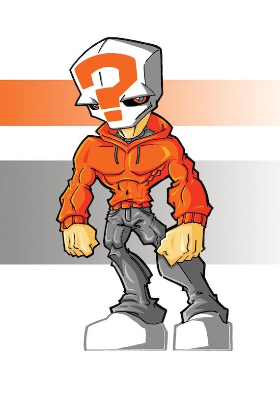 Blanko - Lil BIG Eds Mascot