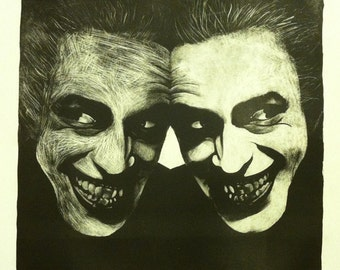 Why So Serious? Joker Lithograph