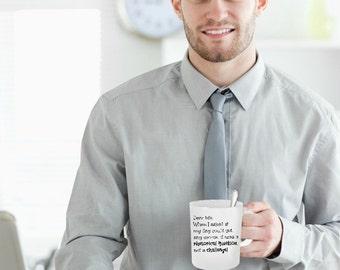 Dear Life Funny Novelty Mug Gift Idea 4 Boss Family Friend Teacher