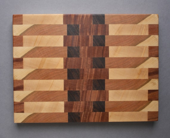 how to make an end grain butcher block cutting board