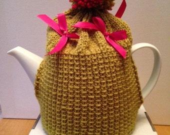 Hand Knitted Bespoke Tea Cosy