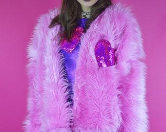 Cloud 9 Luxury Faux Fur Jacket