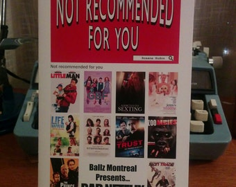 Not Recommended For You Zine