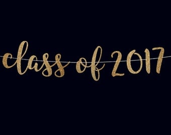 Graduation party banner class of 2017 banner college graduate high school graduate banner graduation decorations