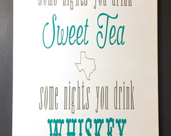 Sweet Tea and Whiskey